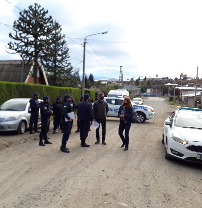 Desalojaron lote municipal de la barda del Ñireco
