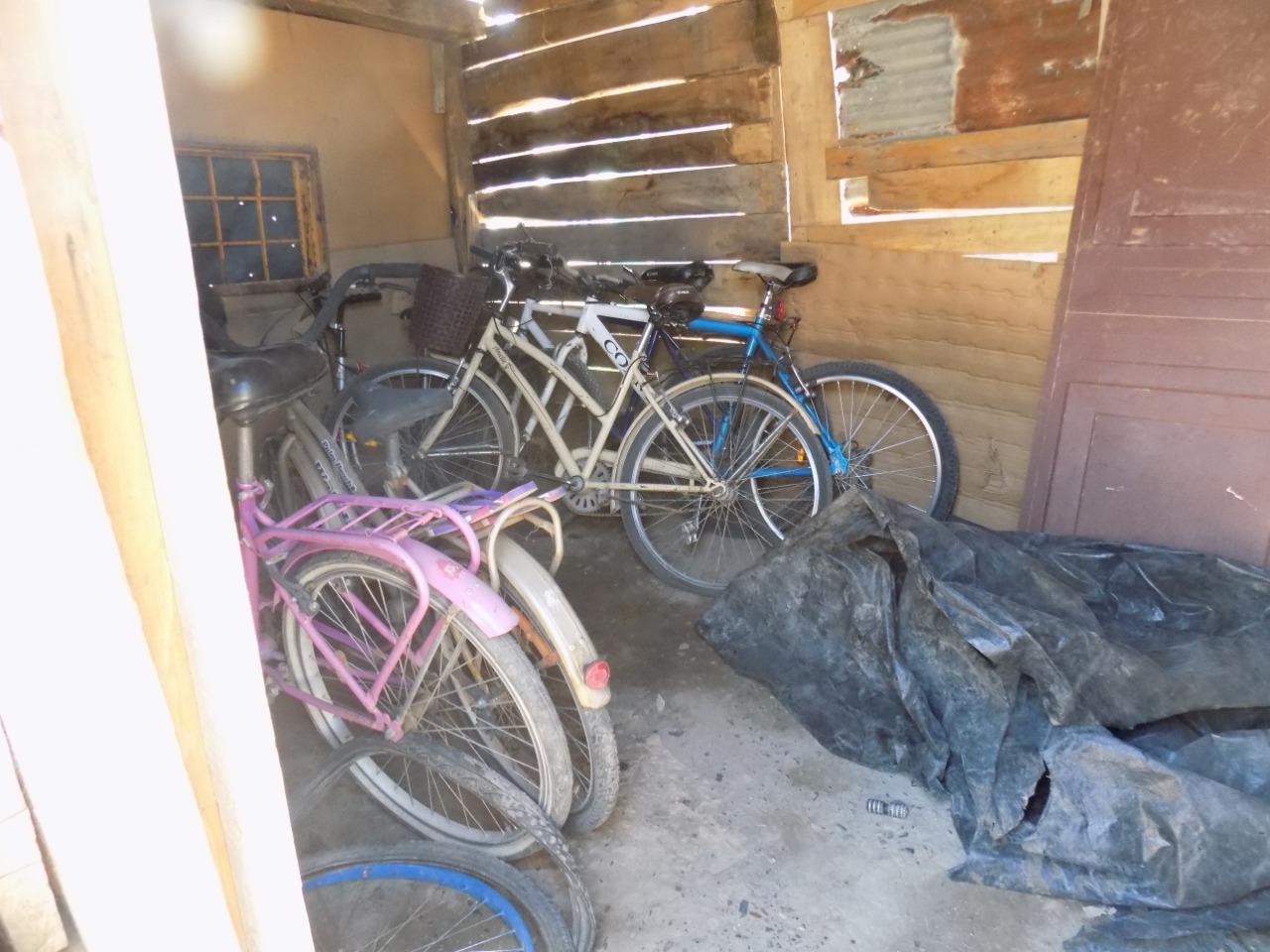 Recuperan una decena de bicicletas robadas