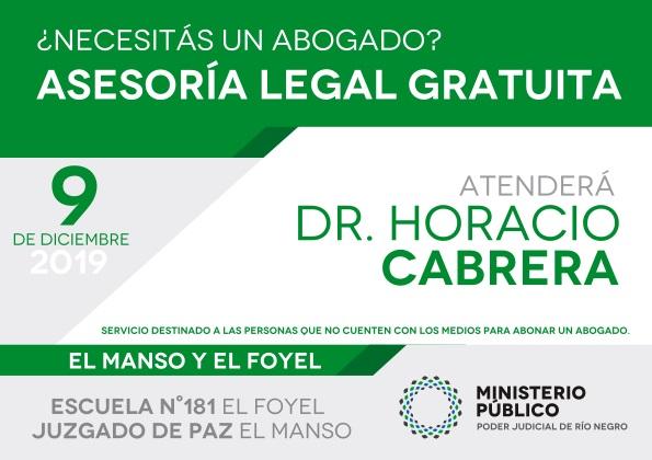 Asesoramiento legal y gratuito enElFoyelyElManso
