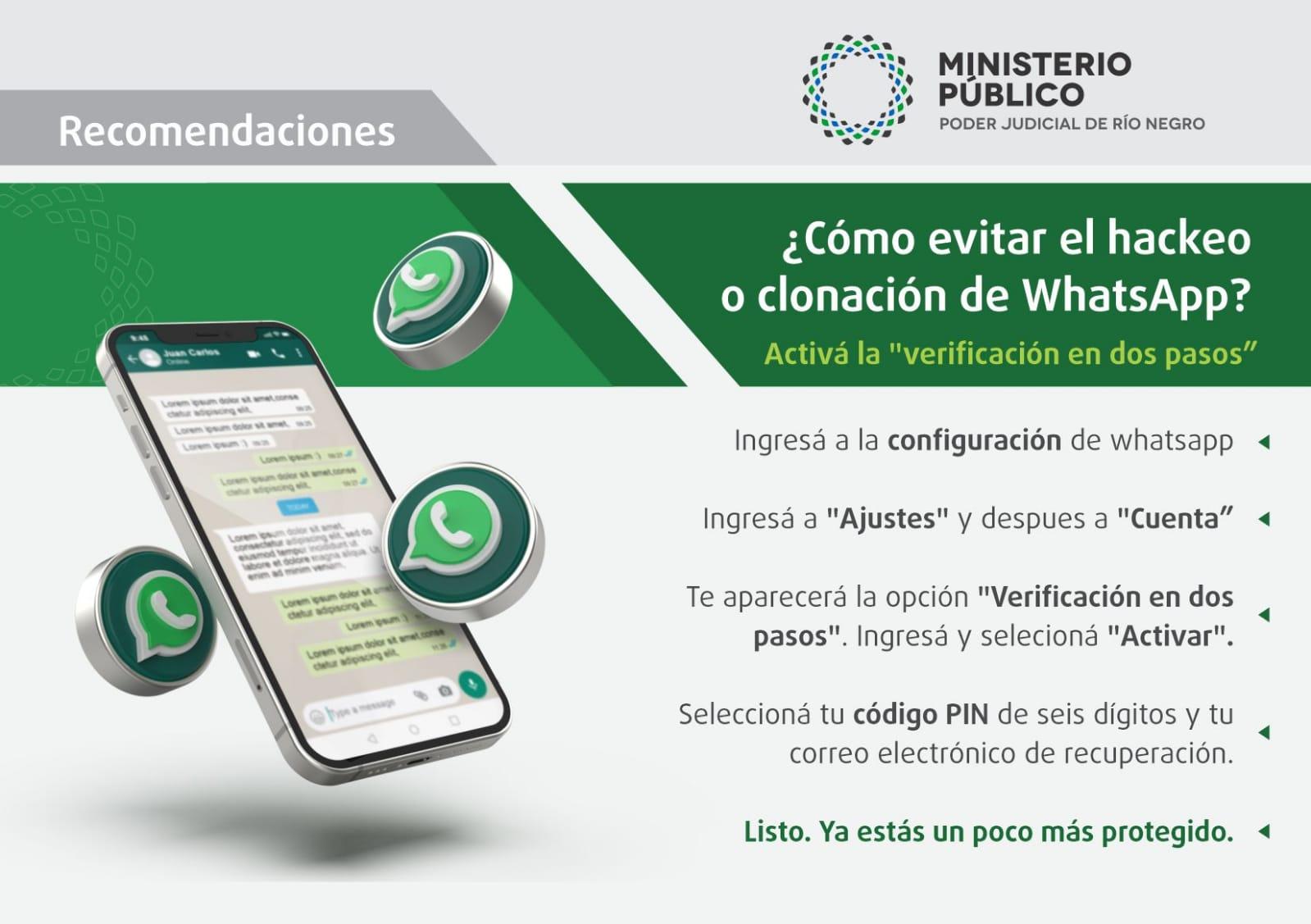 Estafas virtuales: cómo evitar la clonación o hackeo de tu whatsapp