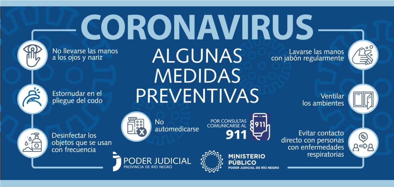 Coronavirus: algunas medidas de prevención