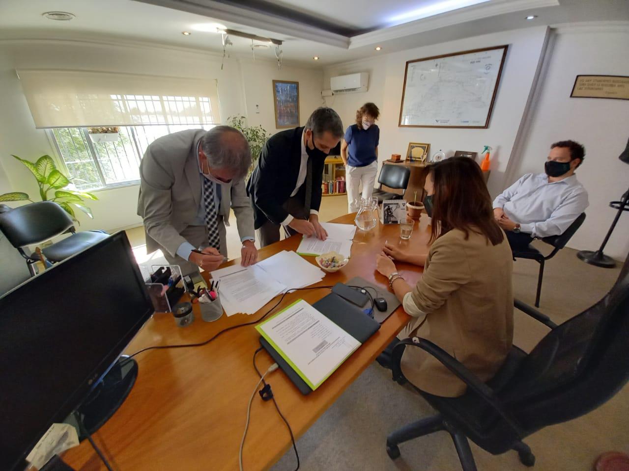 Se suscribió protocolo de actuación de la Unidad de Arresto Domiciliario por Monitoreo Electrónico
