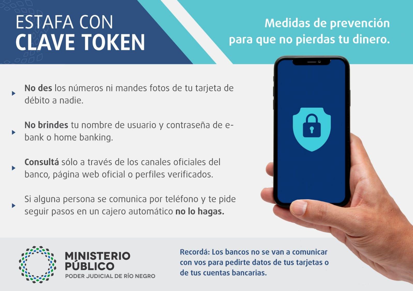 Estafa con clave Token: medidas de prevención para que no pierdas tu dinero