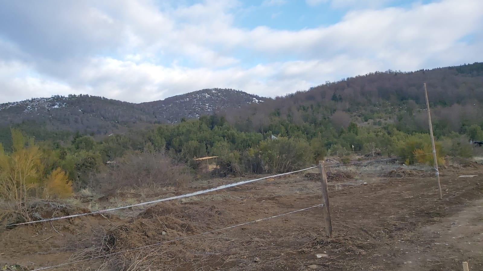 Retiraron elementos de predios usurpados en Ladera de Cerro Otto