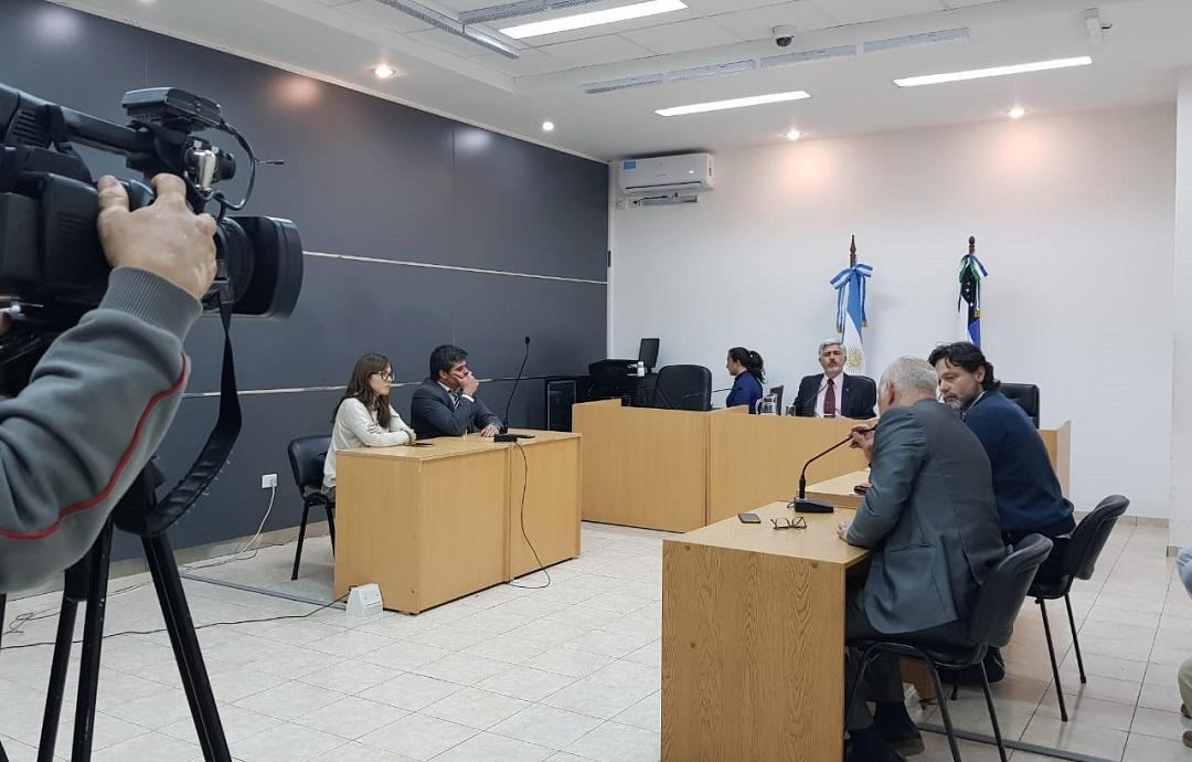 Audiencia de cesura en juicio contra ex intendente de Fernández Oro