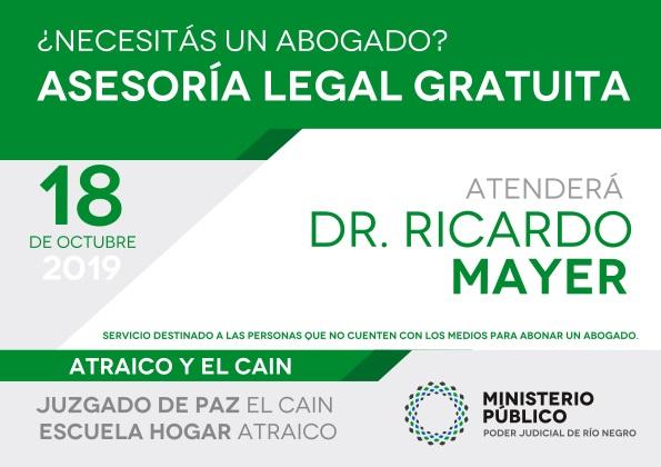 Asesoramiento legal gratuito enAtraicoyElCaín